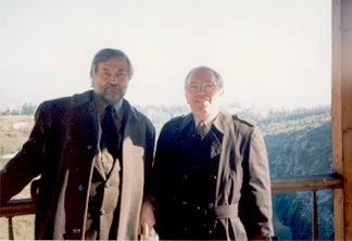 Вячеслав Игрунов и Владимир Лукин