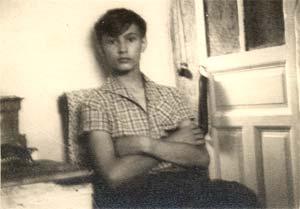 15-летний Вячек Игрунов дома у Алика Феллера.