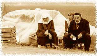 Чеченские беженцы. Фото с сайта Гражданского содействия