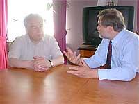 Диалог Вячеслава Игрунова с Чингизом Айтматовым