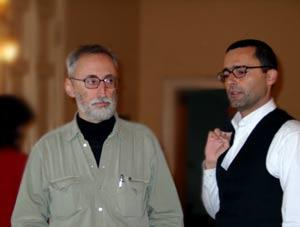 Антонио Мореско и Федерико Нобиле. Фото Лены Шварц