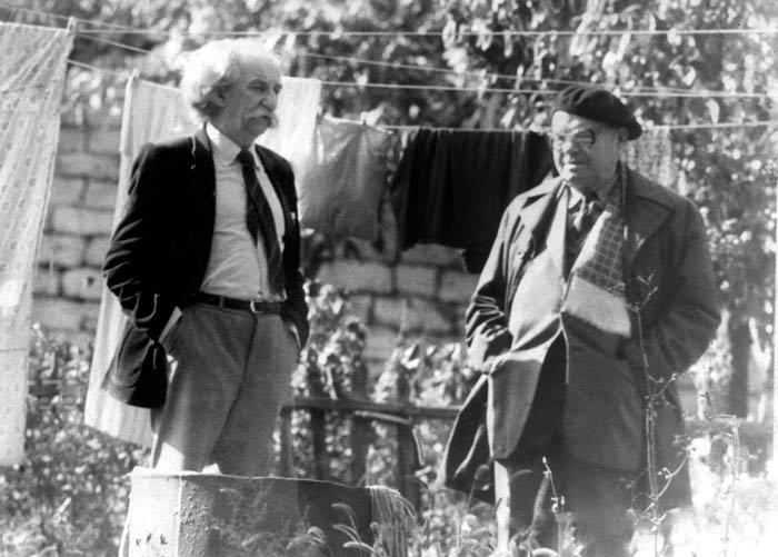 Полторацкий (справа) и Лотман