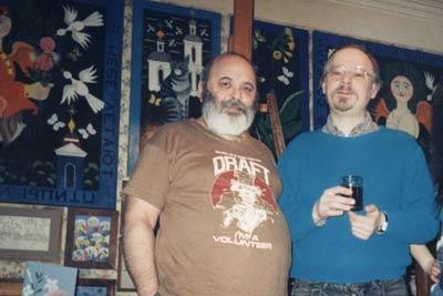 Александр Туманов (слева) и Алексей Пятковский